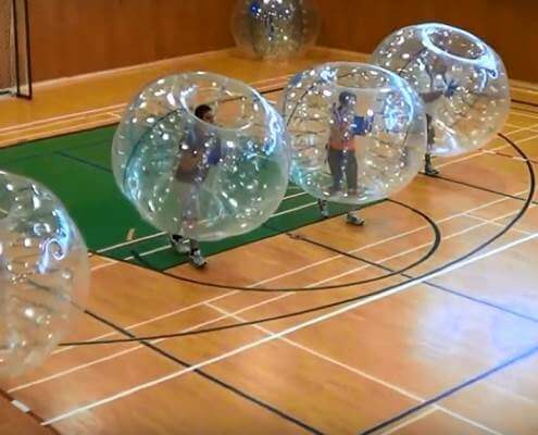 Bubble Football Fun Facts