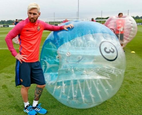 Messi Bubble Football