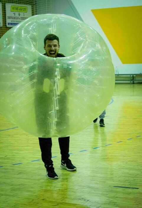 Play Bubble Soccer Budapest