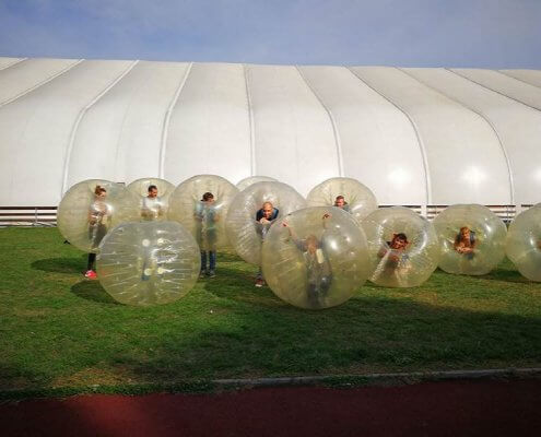 History of Bubble Football
