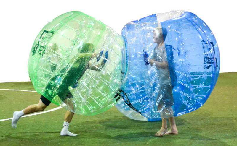 Bubble Football Infographic