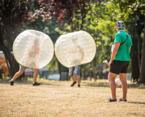 zorb football prices budapest